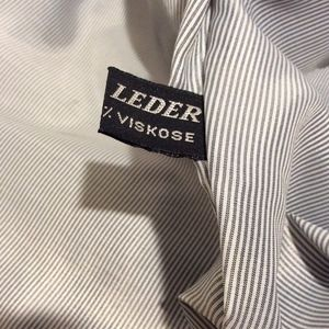 Echtes Leder Jackets & Coats - Echtes Leder Baggy Vegan Leather Jacket